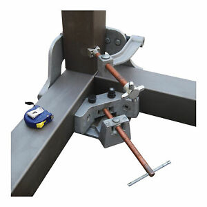 Strong Hand Tools Welding 3 axis Fixture Vise 4 75in Opening Wac45 sw