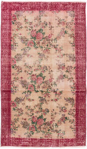 Hand Knotted Turkish 3 10 X 6 4 Melis Vintage Wool Rug Discounted
