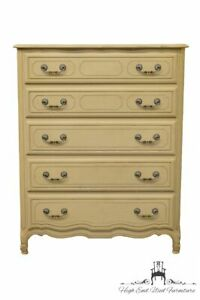 High End White French Provincial 38 Chest Of Drawers 1620 10