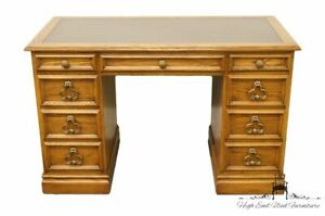Sligh Furniture Solid Oak Country French 46 Writing Desk
