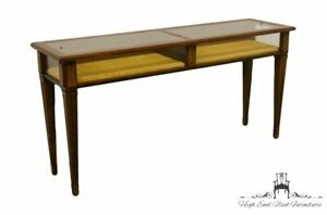 Brandt Furniture Diplomat Solid Cherry 55 Display Sofa Table 7132 196