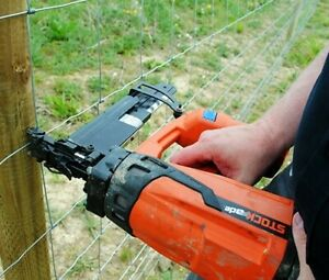 Stock ade St400i Cordless Fence Post Stapler