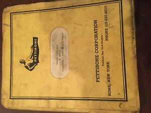 Master Pettibone 30 25 Model Multikrane Skidder Parts Manual Original Antique