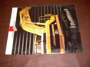 Cat Caterpillar 325 Excavator 325l Long Reach Brochure Original Antique