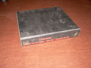 Twin Disc Power Shift Transmission Book Manual 51 2000
