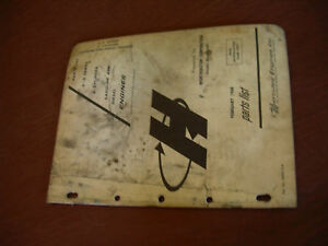 Hercules G D Series 4 Cylinder Gas And Diesel Parts Engine List Manual