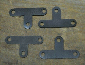 1928 1929 Ford Hood Latch Mounting Pad Set Gasket Mount Banger Hot Rod Model A
