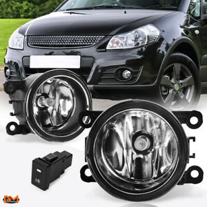 For 06 14 Suzuki Grand Vitara Sx4 Sedan Clear Lens Bumper Fog Light Lamp Switch