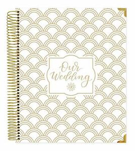 Bloom Daily Planners Undated Wedding Planner Hard Cover Wedding Day Planner