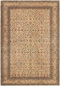 Hand Knotted Turkish 4 10 X 7 0 Anadol Vintage Wool Rug Discounted