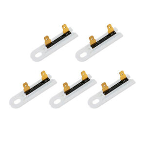 5pc Dryer Thermal Fuse Thermofuse Replacement Part Fit For Whirlpool And Kenmore
