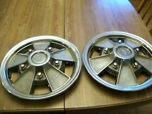 Two 1967 Chevrolet Chevelle Rally Sport Wheel Covers Or Hub Caps