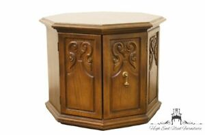 American Of Martinsville Octagonal Storage End Table 2607 631