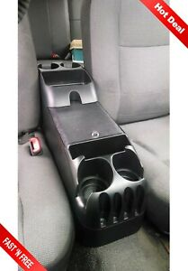 Universal Center Car Console Bin Auto Organizer Truck Cup Holder Minivan Storage
