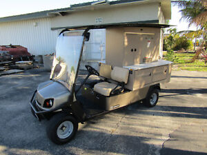 Cushman Fs4 Flexserve Refresher Beverage Vending Food Type Golf Cart Bar Set Up