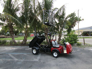 Toro Workman 3200 With Vertical Lift Dump Body Utility Vehicle Off Road