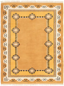 Hand Knotted Turkish 6 0 X 7 9 Melis Vintage Wool Rug Discounted