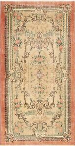 Hand Knotted Turkish 4 5 X 8 8 Anadol Vintage Wool Rug Discounted