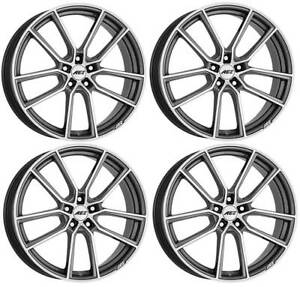 4 Aez Raise Wheels 7 5jx17 5x108 For Volvo C30 S40 S60 S80 S90 V40 V50 V60 V70 V