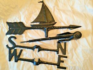 Old Century Forge Brand New Old Stock Sailboat Weather Vane Made In Usa