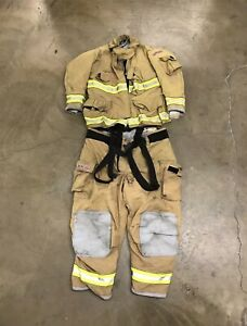 Globe Bunker Gear Turnout Gear 42x34 50x32