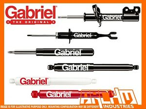Mazda 323 Protege Bj 1998 2002 Rear Gabriel Ultra Strut Shock Absorbers Gas