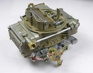 Holley 4160 4 Barrel Non Adjustable Float Carburetor With Manual Choke 600cfm