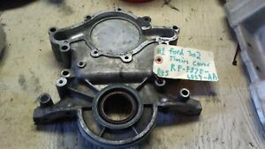 Ford 302 Timing Cover F87e 6059