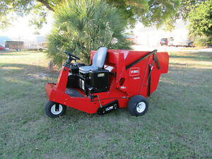 Toro 4800 Sweeper Lawn Turf Debris Great Spring Fall Cleanups 47 Hrs