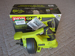 Ryobi 18v Drain Auger Model p4001 Power Tool Only Drain Cleaning