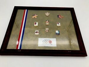 1996 Atlanta USA Olympics Coca Cola Commemerative Pin Set. Number 210 Of 500