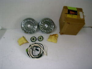 Nos 1962 Dodge Suburban Back Up Light Package Pair Mopar Accessories Fb19