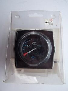 Kmart Brand Automobile Oil Pressure Replacement Gauge Vintage New Original Pack