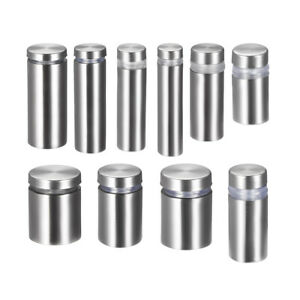 Glass Standoff Mount stainless Steel Wall Standoff Holder Advertising Nails 4pcs