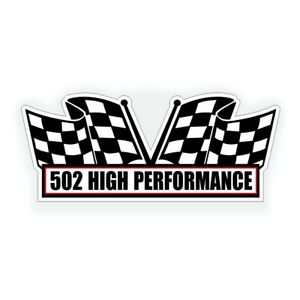 502 Air Cleaner Engine Decal For Big Block Crate Motor For Hot Rod Or Race Car