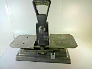 Vintage The Exact Weight Scale Co Manual Balance Scale Model Type 347