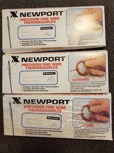 Newport 5tc tt j 24 36 n Precision Fine Wire Thermocouples 15 Pc New