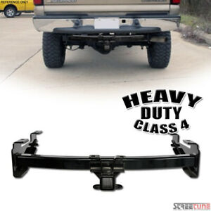 Class 4 Iv Trailer Hitch Receiver Tube Towing Heavyduty 01 Silverado 2500 3500