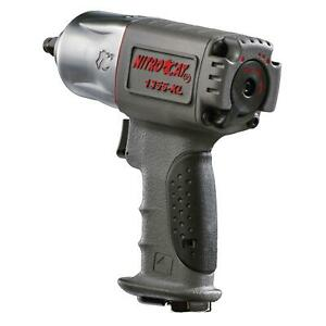 Aircat Impact Wrench Nitrocat Composite Twin Clutch 3 8 In Drive Each 1355 Xl