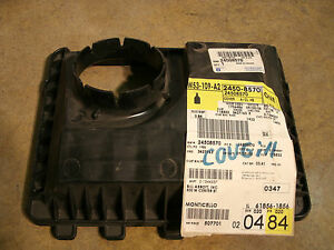 Air Cleaner Intake Cover many 99 05 Buick chevrolet Pontiac Cars Gm 24508570