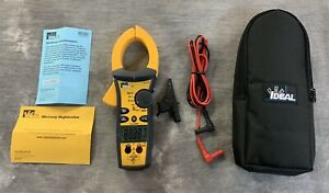 Ideal 61 7751000a Ac dc Tightsight Clamp Meter With Trms Capacitance Frequency