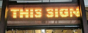 Signtronix Programmable Led 40 3 Sx p12 24x80 Rg Interior Sign Wi fi