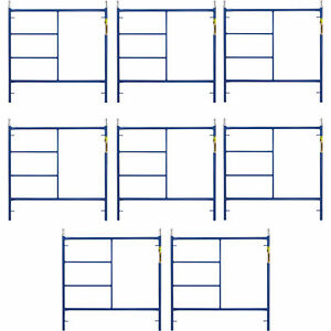 Metaltech M mf6060apsk8 Saferstack 5ft X 5ft Mason Frame 8 pack
