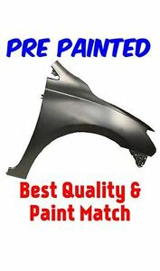 New Pre Painted Passenger Rh Fender For 2013 2015 Nissan Sentra W Free Touchup