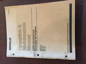 Caterpillar Cat 3208 29a 30a 90n Engine Industrial Maintenance Manual Operation
