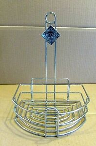 Mcilhenny Tabasco Condiment Holder Stainless Steel Restaurant Table Rack Free Sh