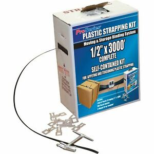 American Moving Supplies Proseries Plastic Strapping Kit ma9000