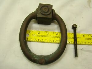 Large Antique Ornate Solid Bronze Brass Door Knocker Doorknocker Weighs 3 Lbs