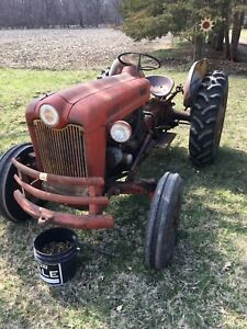 Ford 641 Workmaster Tractor Good Rear Tires One New Front Gas Engine 12volt