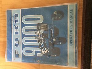 New Holland Ford Operator Tractor Manual 9000 Operator s